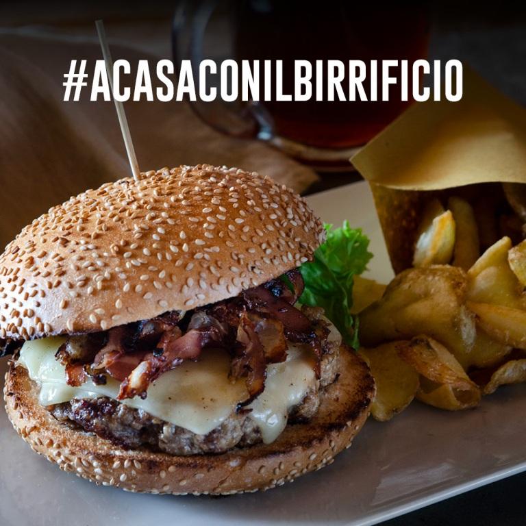 ASPORTO E DELIVERY #ACASACONILBIRRIFICIO