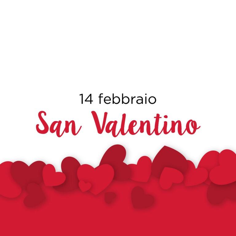 Festeggia con noi San Valentino.